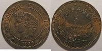 1896 A 5 Centimes Monnaie française, Cérès, 5 Centimes 1896 A Torche S... 900,00 EUR kostenloser Versand