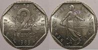 1985 2 Francs Monnaie française, Semeuse, 2 Francs 1985 SUP+, KM# 942.... 38,00 EUR  zzgl. 7,00 EUR Versand