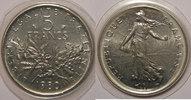 1980 5 Francs Monnaie française, Semeuse, 5 Francs 1980 FDC, KM# 926a.... 9,00 EUR  zzgl. 7,00 EUR Versand