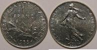 1988 1 Franc Monnaie française, Semeuse, 1 Franc 1988 SUP+, Gad: 474 v... 5,00 EUR  zzgl. 7,00 EUR Versand
