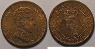 1906 Spanien Espagne, Spain, 1 Centimo 1906  SL-V, SUP+, KM# 726 vz+  6,00 EUR  zzgl. 7,00 EUR Versand