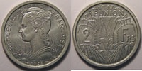 1948 Réunion Réunion , 2 Francs 1948 SPL, Lec: 62 vz+  7,00 EUR  zzgl. 7,00 EUR Versand