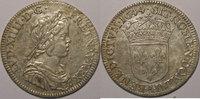 1644 A LOUIS XIV (1643-1715) Louis XIV, 1/4 Ecu à la mèche courte 1644... 240,00 EUR  zzgl. 7,00 EUR Versand