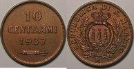1937 Saint Marin Saint Marin, San Marino, 10 Centesimi 1937, SUP vz  12,00 EUR  zzgl. 7,00 EUR Versand