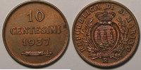 1937 Saint Marin San Marino, 10 Centesimi 1937 , SUP, KM#13 vz  12,00 EUR  zzgl. 7,00 EUR Versand