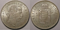 1879 Ungarn Hongrie , 1 Forint 1879, SUP+/SPL, KM#453.1 vz+  45,00 EUR  zzgl. 7,00 EUR Versand