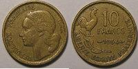 1954 TB 10 Francs Guiraud, 10 Francs 1954 TB+, Gad: 812 s+  15,00 EUR  zzgl. 7,00 EUR Versand