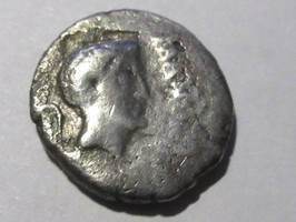 Denar 43 v. Chr. Römische Republik Denar von MARCUS ANTONIUS mit JULIUS CAESAR schön-sehr schön