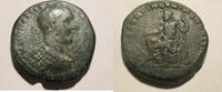 Rom Ae-28 Ae-28mm von Macrinus, geprgt in Nicopolis ad Istrum  Rs. Tyche n. links