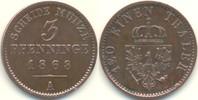 3 Pfennige 1868 A Deutschland Kursmünze vz-  7,50 EUR  zzgl. 2,90 EUR Versand