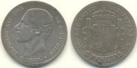 2 Pesetas 1882 Spanien Kursmünze ss-  12,00 EUR  zzgl. 2,90 EUR Versand