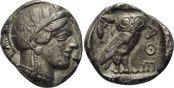 Tetradrachme ca. 454 - 4 ATTIKA  ss