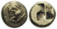 Hemihekte 550-500 v.Chr. MYSIEN  ss-vz  3200,00 EUR  zzgl. 9,90 EUR Versand