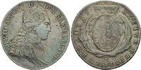 1/2 Konv.-Taler 1799 IEC  Friedrich August III., 1763 - 1827 vz  420,00 EUR  zzgl. 6,90 EUR Versand