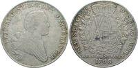 Taler. Ausbeute 1768 Dresden  Friedrich August III., 1763 - 1806 ss+  290,00 EUR  zzgl. 6,90 EUR Versand