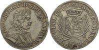 2/3 Taler 1688 Dresden  Johann Georg III., 1680 - 1691 ss+  195,00 EUR  zzgl. 6,90 EUR Versand