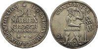24 Mariengroschen 1709 Zellerfeld  Anton Ulrich, allein, 1704 - 1714 ss... 110,00 EUR  zzgl. 6,90 EUR Versand