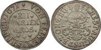 12 Mariengroschen 1671 Zellerfeld  Ernst August I., 1662 - 1698 ss-vz, ... 130,00 EUR  zzgl. 6,90 EUR Versand