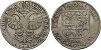 1/3 Taler o.J. Esens  Georg Christian, 1660 - 1665 ss, feine Patina  160,00 EUR  zzgl. 6,90 EUR Versand