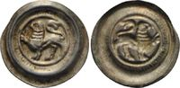 Brakteat o.J.  Wilhelm von Lüneburg, 1195 - 1213 ss-vz, feine Patina  130,00 EUR  zzgl. 6,90 EUR Versand