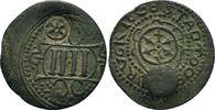 4 Pfennig 1690 Gegenstempel Rad   ss-vz  90,00 EUR  zzgl. 6,90 EUR Versand
