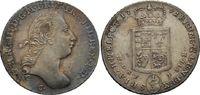 1/3 Taler 1791 Clausthal  Georg III., 1760 - 1820 ss-vz, feine Patina  190,00 EUR  zzgl. 6,90 EUR Versand
