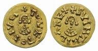 VÖLKERWANDERUNG Tremissis Toledo vz Suinthila, 621 - 631 n.Chr. 990,00 EUR  zzgl. 9,90 EUR Versand