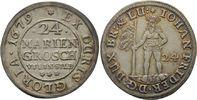 24 Mariengroschen 1679 Zellerfeld  Johann Friedrich, 1665 - 1679 ss-vz,... 160,00 EUR  zzgl. 6,90 EUR Versand