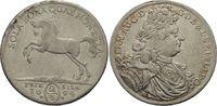 2/3 Taler 1694 Clausthal  Ernst August, 1679 - 1698 ss+, feine Patina  190,00 EUR  zzgl. 6,90 EUR Versand