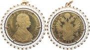4  Dukaten -Nachprägung- 1 1915 Haus Habsburg Franz Joseph I. 1848-1916... 760,00 EUR