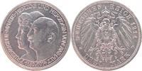 3 Mark 1914  A Anhalt Friedrich II. 1904-1918. vorzüglich +  95,00 EUR kostenloser Versand