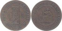 1 Cent 1892 Frankreich-Indo-China  sehr schön  10,00 EUR  +  5,00 EUR shipping