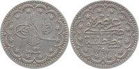 5 Kurush 1293 Türkei Abdul Hamid II. 1876-1909. sehr schön +  10,00 EUR  +  5,00 EUR shipping