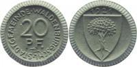 20 Pfennig 1921 Waldenburg/Schlesien  vorzüglich  14,00 EUR  +  5,00 EUR shipping