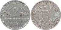 2 DM 1951  J Deutschland, Bundesrepublik  sehr schön +  24,00 EUR  +  5,00 EUR shipping