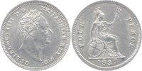 Four Pence 1837 Grossbritannien William IV. 1830-1837. vorzüglich  80,00 EUR  +  7,00 EUR shipping
