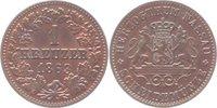 Cu-Kreuzer 1863 Nassau Adolph 1839-1866. Stempelglanz  65,00 EUR kostenloser Versand