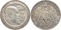 3 Mark 1911  F Württemberg Wilhelm II. 1891-1918. vorzüglich +  29,00 EUR  +  5,00 EUR shipping