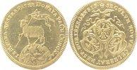 'LAMM'- Dukat 1700 Nürnberg-Stadt  feiner Haarkr., f. Stempelglanz  750,00 EUR kostenloser Versand