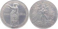 Vereinstaler 1862 Frankfurt- Stadt  Rf., min. Kr., sehr schön +  55,00 EUR kostenloser Versand