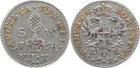 7 Kreuzer Stadtwährung (5 Kreuzer Reichswährung) 17 1758 Augsburg-Stadt... 125,00 EUR  +  10,00 EUR shipping