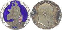 Florin 1905 Grossbritannien Edward VII. 1901-1910. Vs. kleine Br.-spur,... 115,00 EUR  +  10,00 EUR shipping
