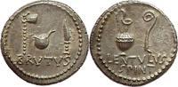denarius 43-42 BC. Roman Imperatorial J. Brutus und Lentulus Spinther W... 7500,00 EUR kostenloser Versand