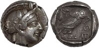 Ancient Greece tetradrachm Attika, Athens
