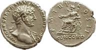 denarius 118 AD. Roman Imperial Hadrian Sehr schön  150,00 EUR  zzgl. 10,00 EUR Versand