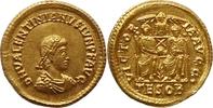 Solidus 379 AD Roman Impirial Valentinian II Vorzüglich  2100,00 EUR kostenloser Versand