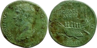 sestertius 132-134 AD Roman Imperial Hadrian Gutes sehr schön  2000,00 EUR kostenloser Versand