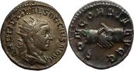 antoninianus 251 AD Roman Imperial Herennius Etruscus Fast vorzüglich  210,00 EUR  zzgl. 10,00 EUR Versand