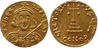 Byzantine Empire solidus 698-705 vorzüglich Tiberius III Apsimar 1850,00 EUR kostenloser Versand