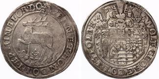 1625  STOLBERG STOLBERG Reichstaler 1625 ...